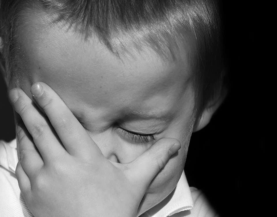 τρόποι που το παιδί εκφράζει το άγχος του